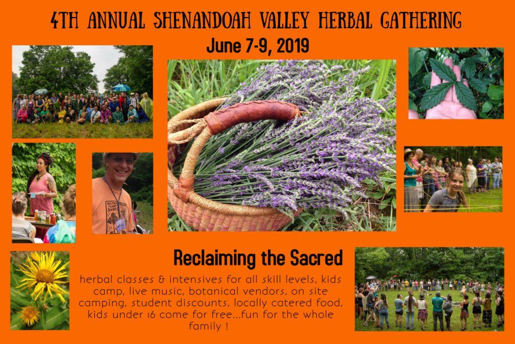 Shenandoah Valley Herbal Gathering Flyer